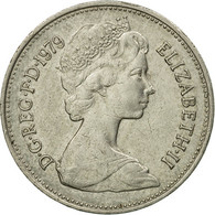 Monnaie, Grande-Bretagne, Elizabeth II, 5 New Pence, 1979, TB+, Copper-nickel - 1971-… : Monnaies Décimales