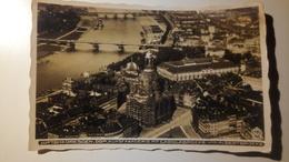 Deutschland, Germany - Luftbild Dresden, Dom, Kunstakademie Mit Carolabrücke Und Albertbrücke - 1936 - Dresden