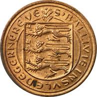 Monnaie, Guernsey, Elizabeth II, 2 New Pence, 1971, Heaton, TB+, Bronze, KM:22 - Guernsey