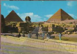 Giza Sphinx Pyramids Of Cheops  Nilo Egitto Egyptian Gizeh  Al-JÄ«zah        - Gizeh