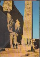 Luxor Temple Great Pylon Obelisk Of Ramses II Pyramids Nilo Egitto Egyptian - Luxor