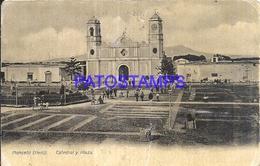 100381 PERU MONSEFÙ CATEDRAL Y PLAZA POSTAL POSTCARD - Peru