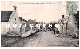 45  Meung Sur Loire  Café , Et Chapelle De La Nivelle - Autres Communes