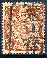 Stamp China Coil Dragon 1898-1900 4c Used #b71 - Cina