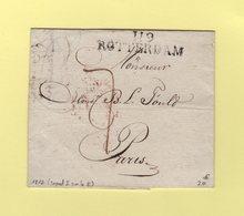 Rotterdam - 119 - 1812 - Departement Conquis Des Bouches De La Meuse - 1792-1815: Conquered Departments