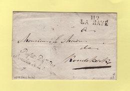 La Haye - 119 - 1811 - Prefet Dept Des Bouches De La Meuse - Departement Conquis - Sans Correspondance - Marcophilie (Lettres)