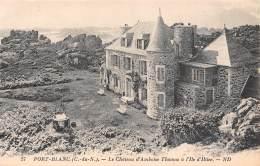 22 - PORT-BLANC - Le Château D'Amboise Thomas à L'Ile D'Illiec - Penvénan