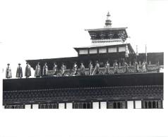 BHOUTAN BHUTAN THIMPHU HIMALAYAS CORONATION KING JIGME SINGYE WANGCHUCH - Bhutan
