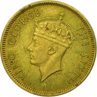 Monnaie, Hong Kong, George VI, 10 Cents, 1950, TB+, Nickel-brass, KM:25 - Hong Kong