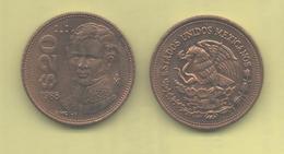 MEXICO - 20 PESOS 1988 - México