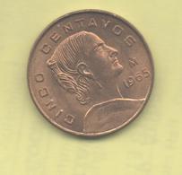 MEXICO - 5 Centavos 1965 - México