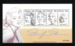 Palau 2007 Sc # Bf 872  MNH **  Marilyn Monroe - Palau