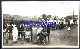 100420 PARAGUAY VILLARRICA VISTA DEL MERCADO MARKET POSTAL POSTCARD - Paraguay