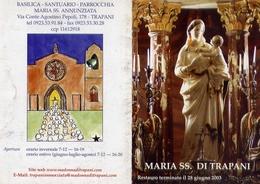 Santino - Maria Ss. Di Trapani - Santuario - Santini