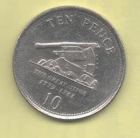 GIBRALTAR - 10 PENCE 2007 KM1082 - Gibraltar