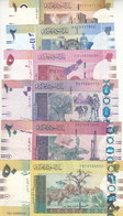 SUDAN 1 2 5 10 20 50 POUNDS 2006 P-64 65 66 67 68 69 VF USED SET LOT #9 - Sudan