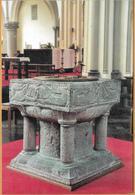 8Aa-981: Lichtervelde St Jacobuskerk  Romaanse Doopvont....algemeen Zicht Na De Renovatie  ... Voltooid In Mei 2000 - Lichtervelde