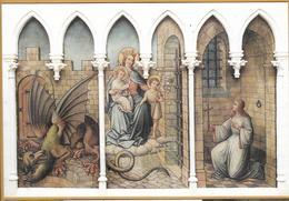 8Aa-979: Lichtervelde St Jacobuskerk De Heilige Margaretha,....fresco - Lichtervelde