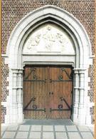 8Aa-977: Lichtervelde St Jacobuskerk..... Portaal Met Timpaan.. - Lichtervelde
