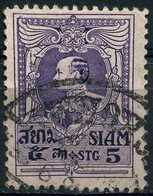 SIAM 1920 - Mi. 169 O, King Vajiravudh To The Left   Thailand (ex-Siam). - Siam