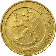 Monnaie, Finlande, Markka, 1993, TB+, Aluminum-Bronze, KM:76 - Finland