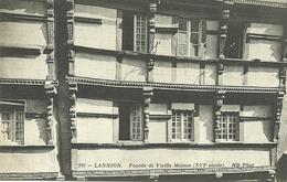 LANNION  -- Façade De Vieille Maison                                            -- ND 291 - France