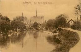 "/ CPA FRANCE 80 ""Amiens, Les Bords De La Somme"" - Amiens"
