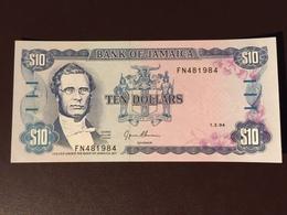 JAMAICA P71 10 DOLLARS 1994 UNC - Jamaique