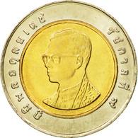 Monnaie, Thaïlande, Rama IX, 10 Baht, 1989, FDC, Bi-Metallic, KM:227 - Thaïlande