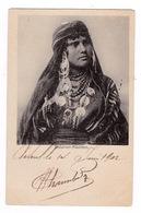 Jolie CPA Femme Bédouine. A Voyagé En 1902 - Western Sahara