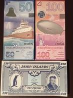JASON ISLAND10 POUND 1979 50.100 AUST 2012 UNC - Billets