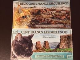 KERGUELEN 100-200 FRANCS 2010 UNC - Billets