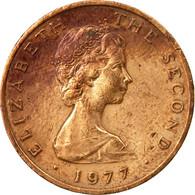 Monnaie, Isle Of Man, Elizabeth II, 2 Pence, 1977, TB+, Bronze, KM:34 - 1971-… : Monnaies Décimales