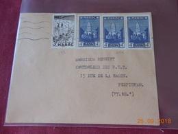 Lettre Du Maroc De 1952 A Destination De Perpignan - Maroc (1891-1956)