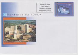United Nations - Envelope Vienna - Postal Stationery - 2004 - Flag - Wenen - Kantoor Van De Verenigde Naties