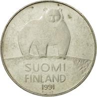 Monnaie, Finlande, 50 Penniä, 1991, TB+, Copper-nickel, KM:66 - Finland