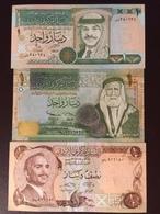 JORDAN P17-29B-34  1.1.5 DINARS 1992.1996.2005 UNC - Jordan
