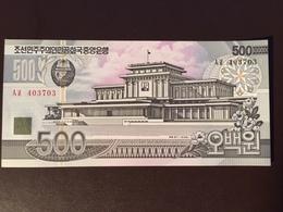 NORTH KOREA P44 500 WON 1998 UNC - Corée Du Nord