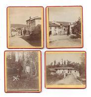 LA PRUGNE ( 03 Allier ) - 4 Photos Des Années 1900 - Edition A.V. - Pas Carte Postale - - France