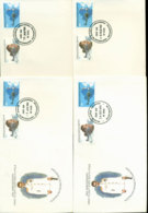 AAT 1980 Flight, Base Set 4x FDC Lot20204 - Other