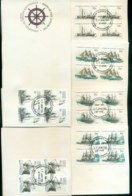 AAT 1981 Ships III Blk 4, Casey  6xFDC Lot79745 - Other