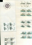 AAT 1981 Ships III Blk 4, Macquarie Is  6xFDC Lot79743 - Other