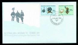 AAT 1984 Magnetic Pole, Redcliffe Qld FDC Lot79844 - Australian Antarctic Territory (AAT)