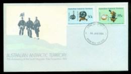 AAT 1984 Magnetic Pole, Swan Hill Vic FDC Lot79842 - Australian Antarctic Territory (AAT)