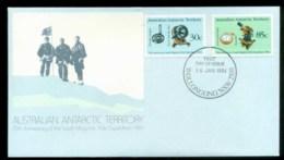 AAT 1984 Magnetic Pole, Woolongong NSW FDC Lot79838 - Australian Antarctic Territory (AAT)