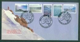 AAT 1985 Antarctic Scenes II, Melbourne Philatelic Bureau FDC Lot28100 - Australian Antarctic Territory (AAT)