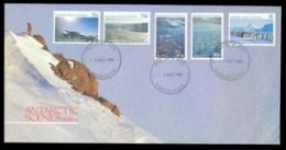 AAT 1985 Antarctic Scenes II, Ringwood Vic FDC Lot79826 - Australian Antarctic Territory (AAT)