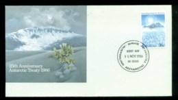AAT 1986 Treaty, Davis FDC Lot79824 - Australian Antarctic Territory (AAT)