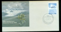 AAT 1986 Treaty, Jamison Centre ACT (toned Edge) FDC Lot79820 - Australian Antarctic Territory (AAT)