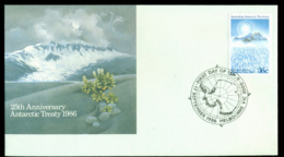 AAT 1986 Treaty, Melb FDC Lot20234 - Australian Antarctic Territory (AAT)